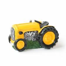 Spaarpot Tractor geel