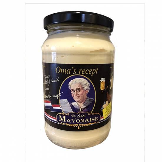 Oma's recept mayonaise