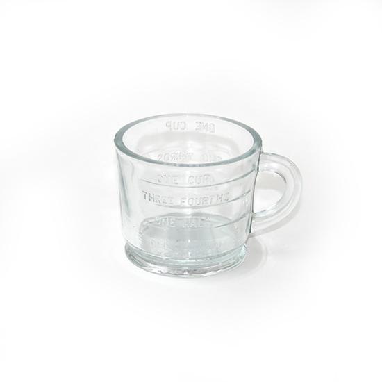 Maatbeker klein glas