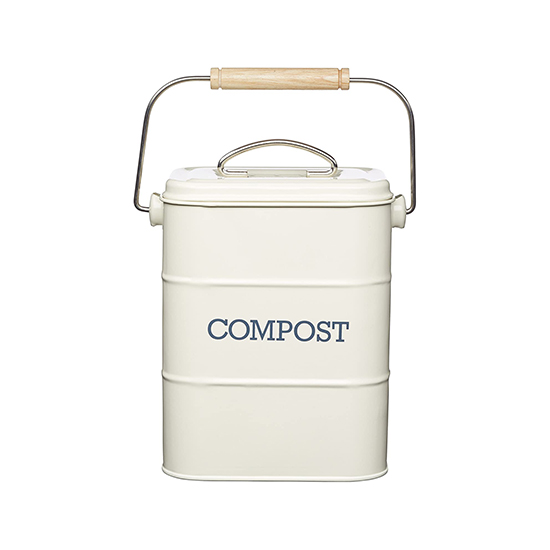 KitchenCraft Compost creme-wit