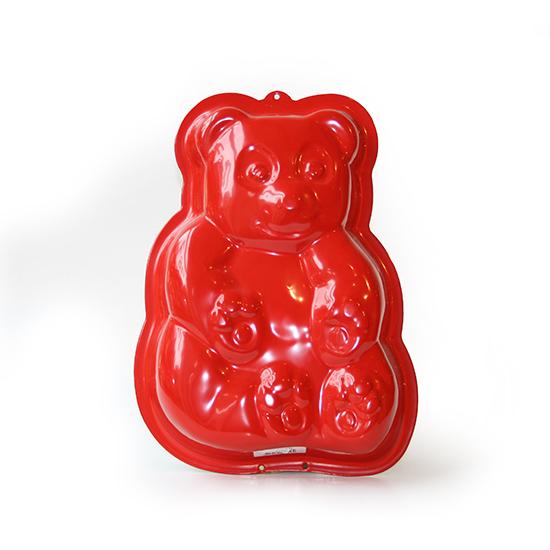 Bakvorm beer rood