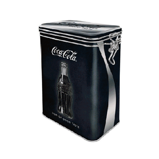 Cliptopbox 02 - CocaCola zwart