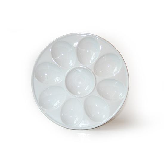Eierenschaal rond