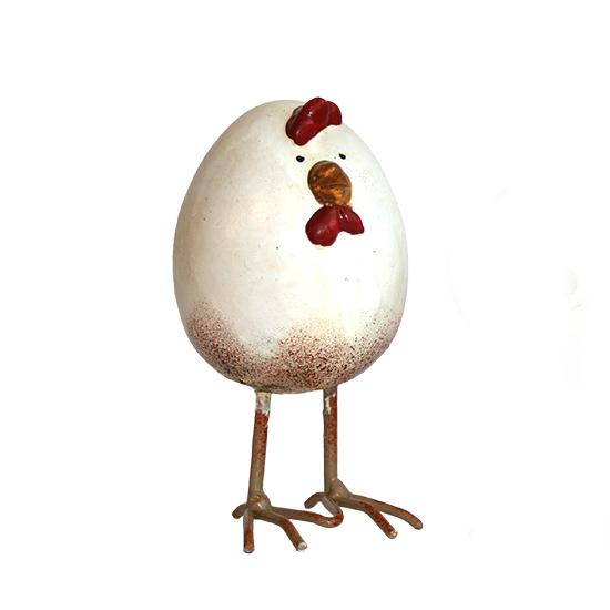 Beeld - Ei kip staand