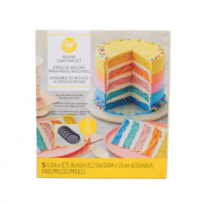 Wilton cakepan set - 5 lagen