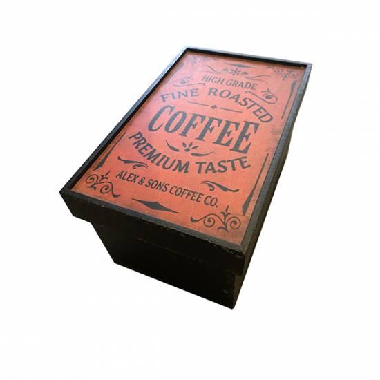 Vintage coffeebox